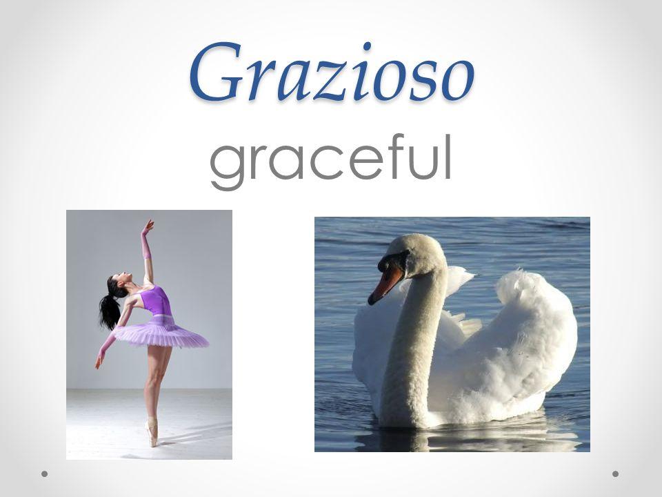 Grazioso graceful