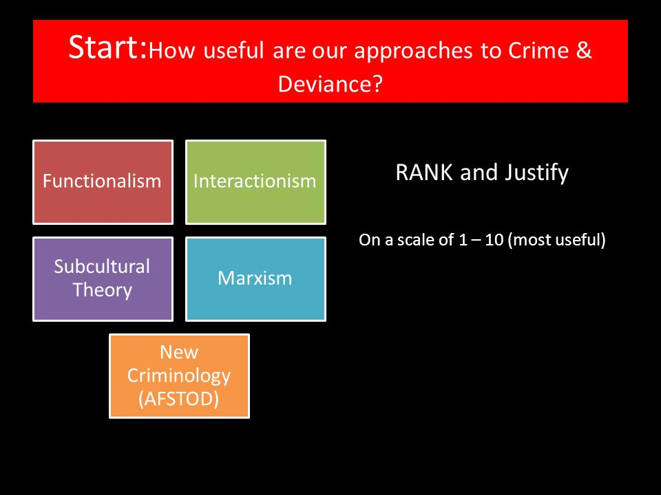 an examination of the usefulness of subcultural approaches on crime and deviance