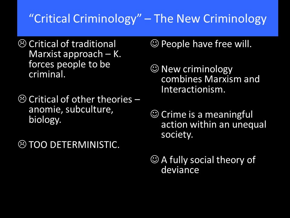 """marxist concepts of criminology theory A theory of the structure of social science knowledge—a conception of the  purpose  marx's own writings do not support a relativistic """"sociology of  knowledge,""""."""