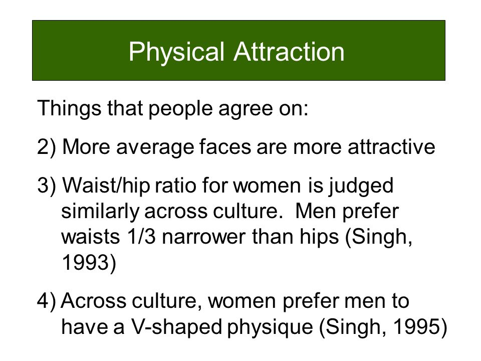 Physical attraction in people over 60 dating