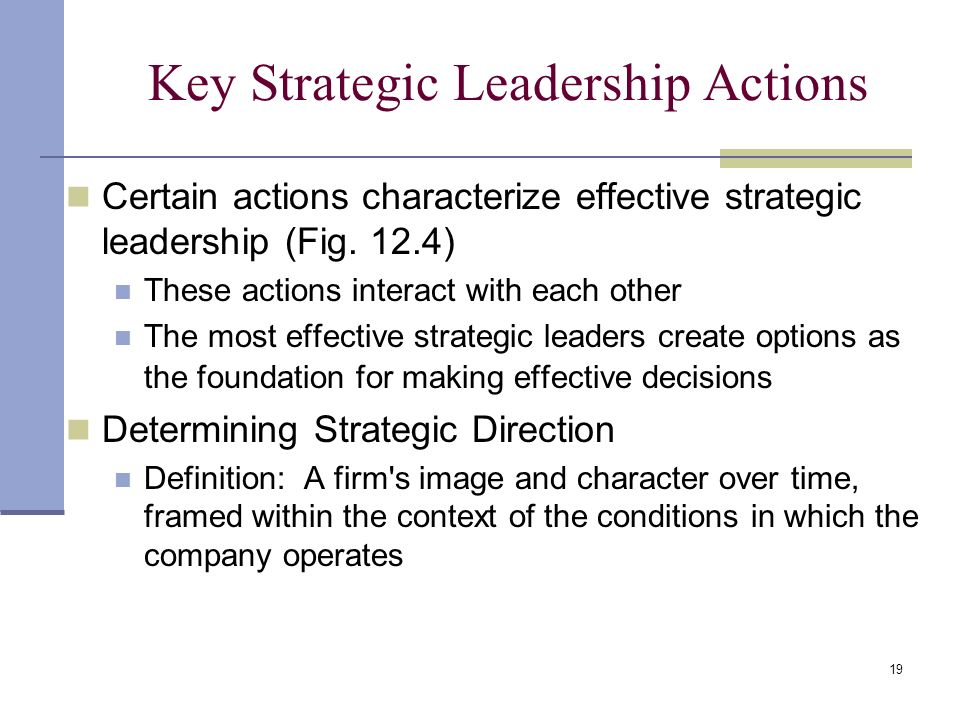 key concepts in strategic management Organizations could plan what they will do to meet with their goal by strategic decisions such as what  key concepts for strategic management and.