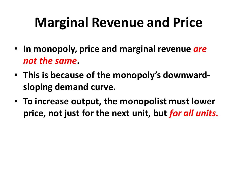why is a monopolist a price maker