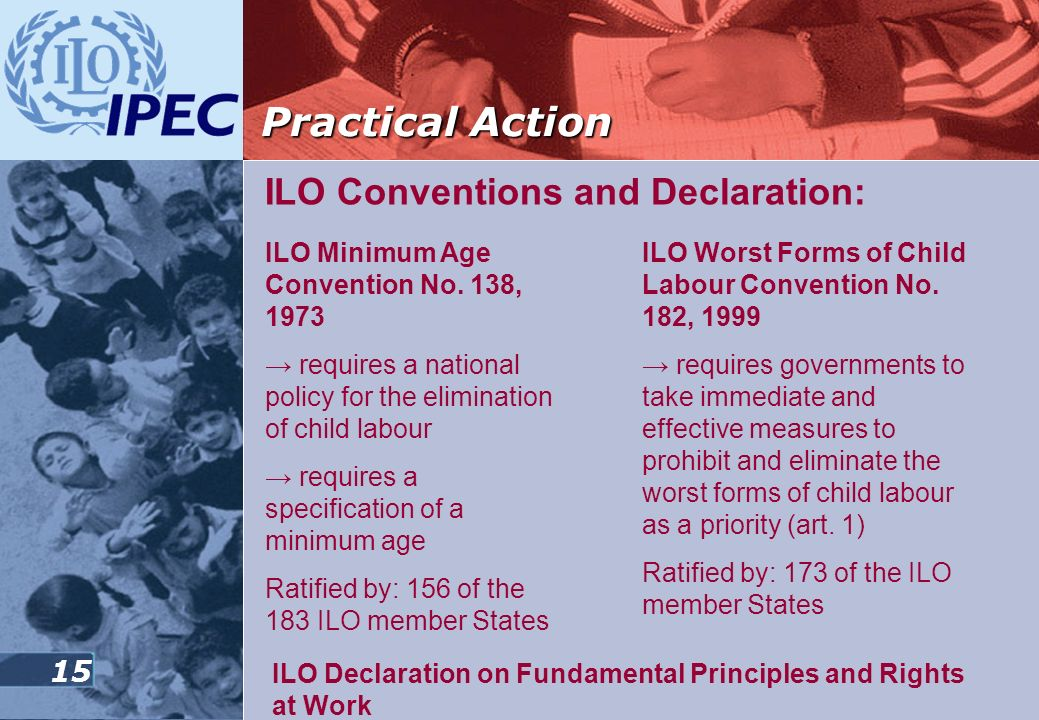 Practical Action ILO Conventions and Declaration: