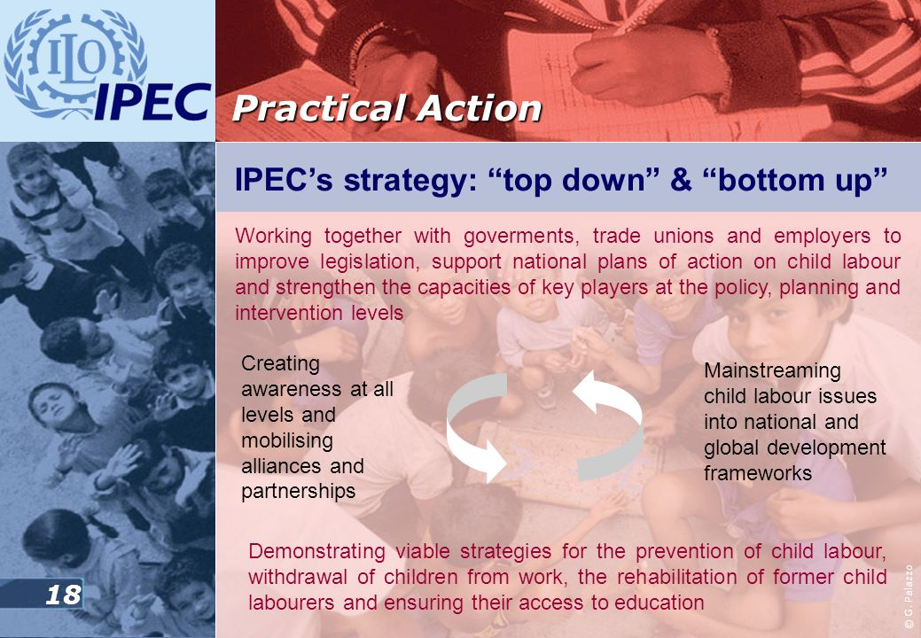 Practical Action IPEC's strategy: top down & bottom up