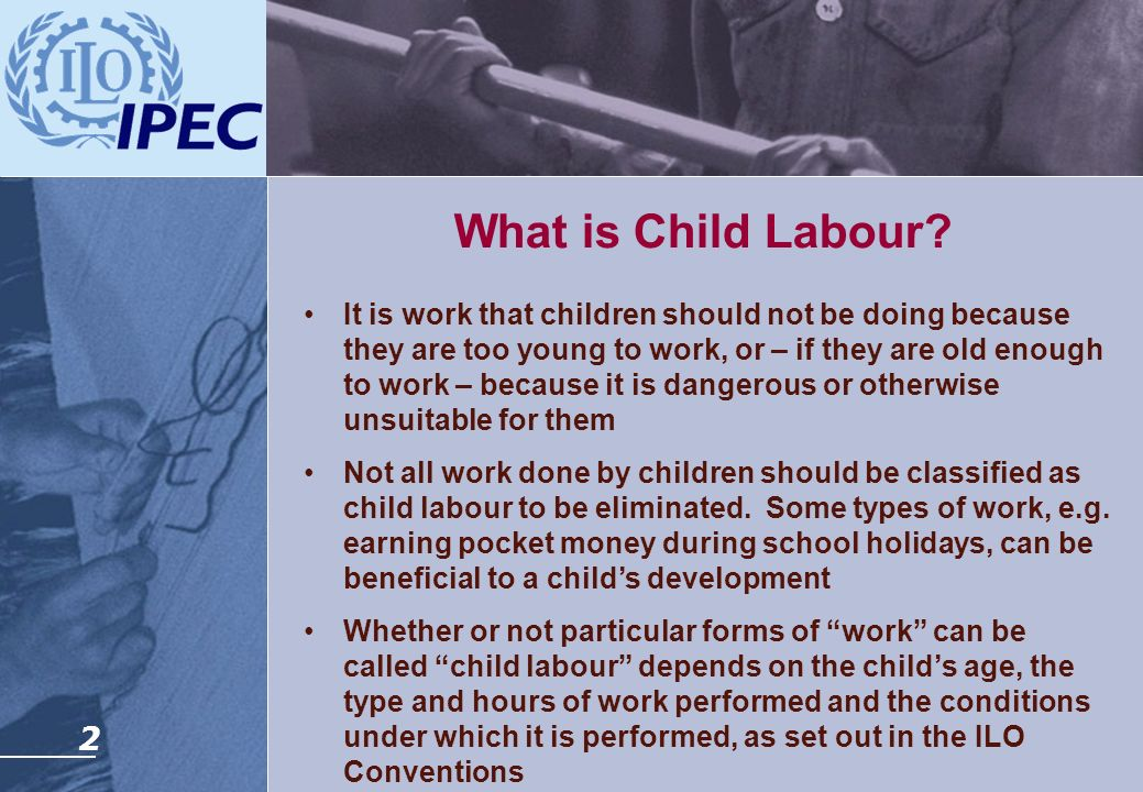 What is Child Labour