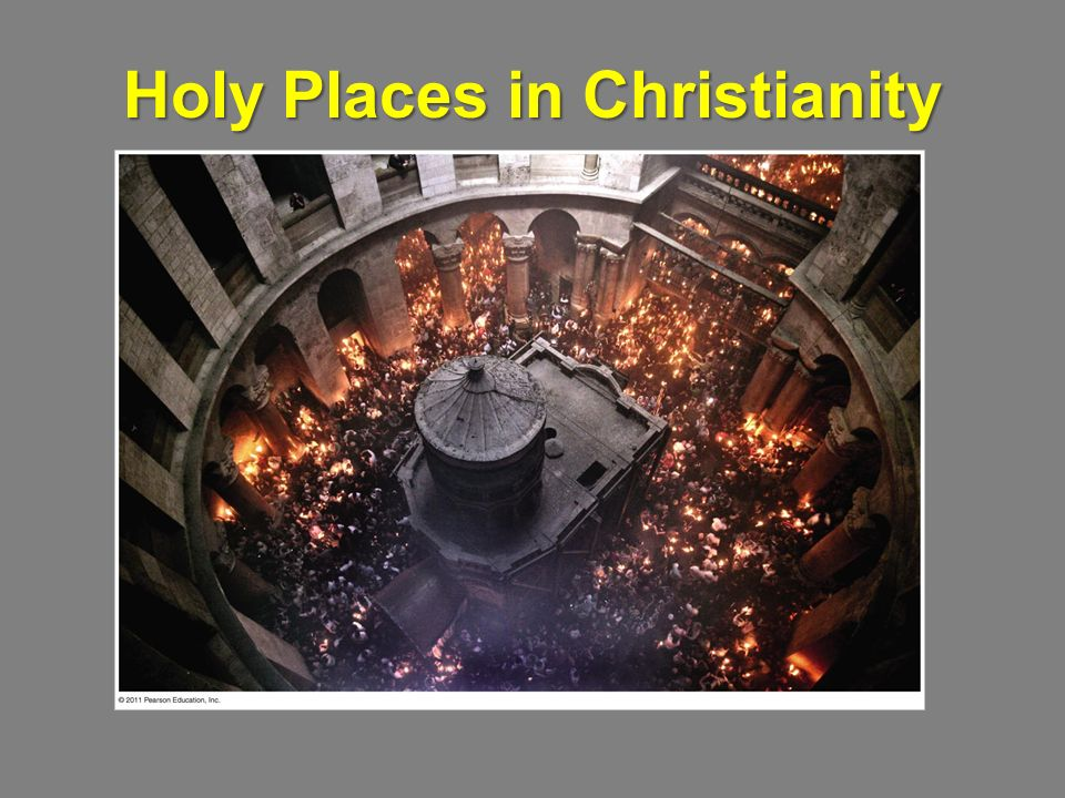 Holy Places in Christianity