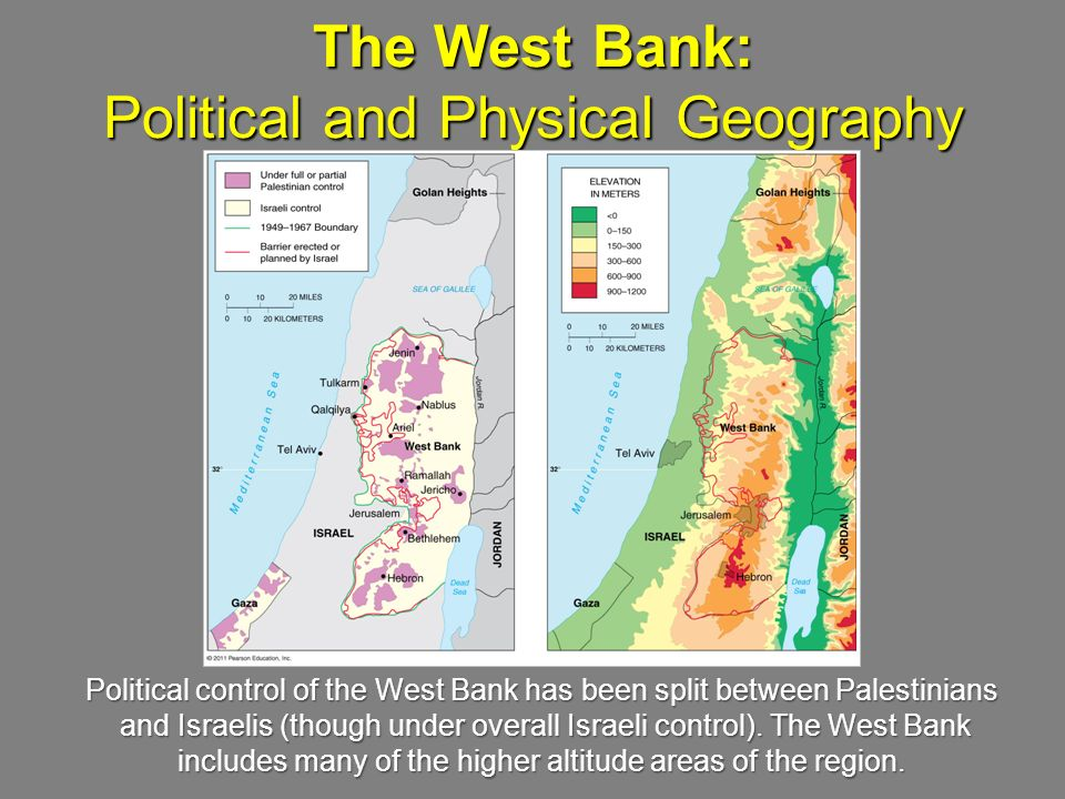 The West Bank: Political and Physical Geography