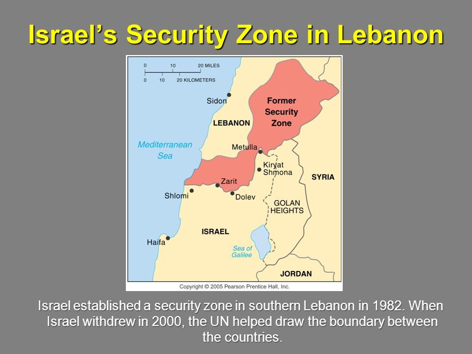 Israel's Security Zone in Lebanon