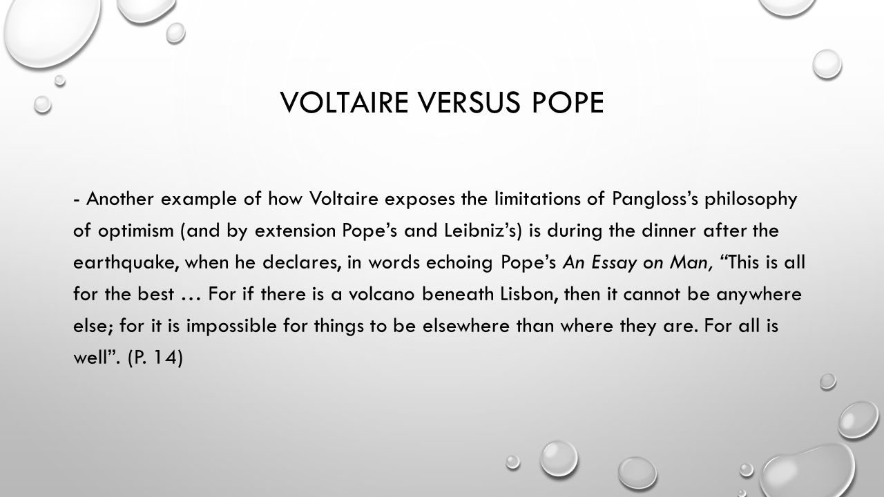 voltaire candide or optimism ppt  42 voltaire