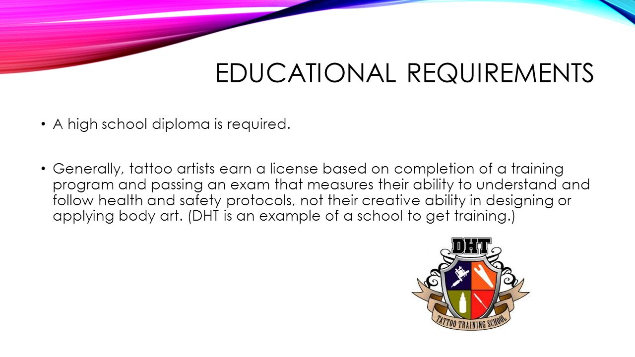 Tattoo artist ppt video online download for Tattoo classes online free