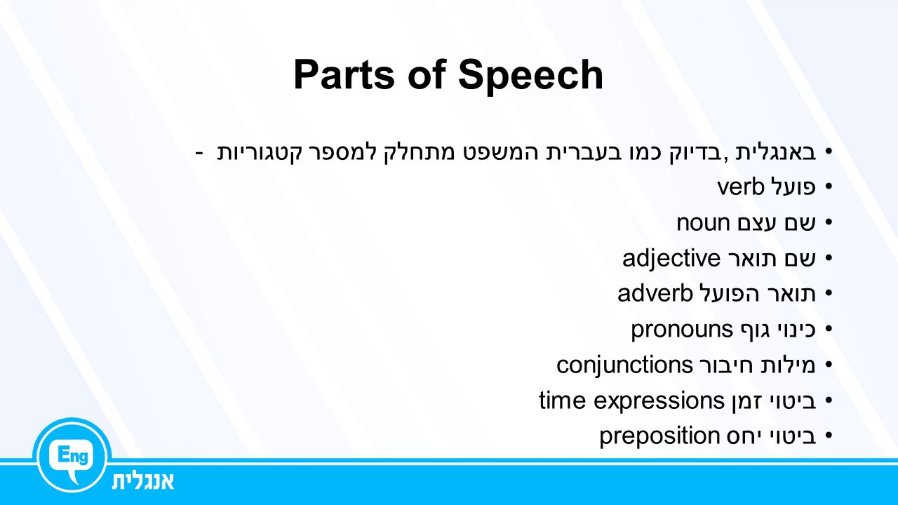 download parts of speech pdf