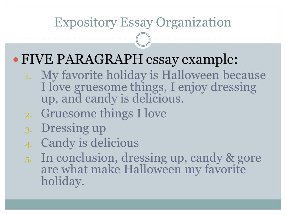 My favorite holiday essay