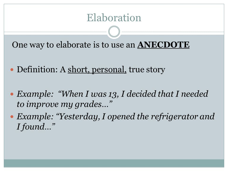 How to Use an Anecdote to Write a Powerful College Essay (With Plenty of Examples)