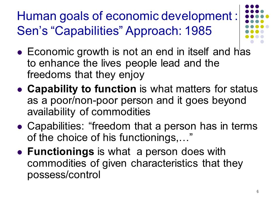 growth economics amartya sen pdf
