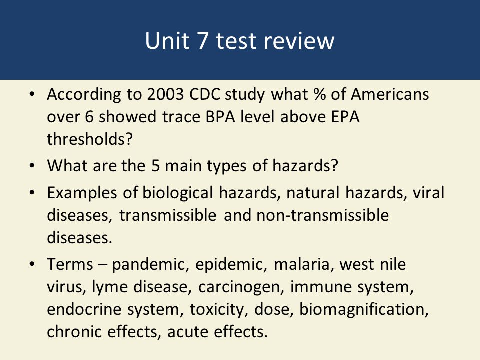 CDC, EPA CLINICAL EXPOSURE STUDY FINDS BPA EXPOSURE ...