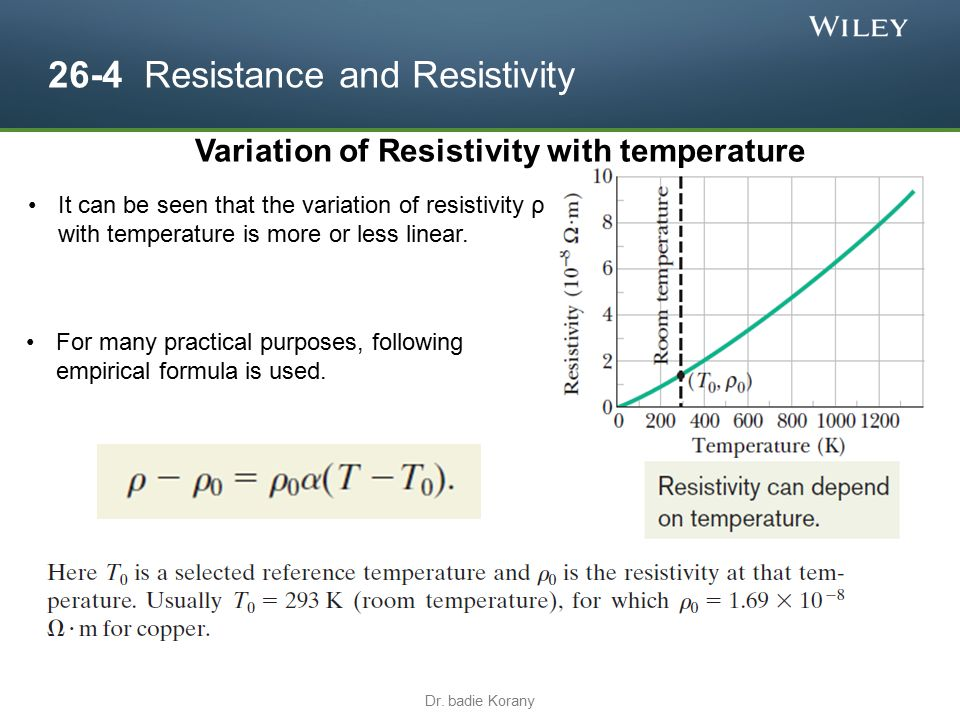 the resistance of a wire varies with its length essay The difference in resistance due to the material is called the resistivity ( 'rho') of  the material (resistivity  the higher the resistance of a wire of given length and  thickness, the higher the resistivity of the material in  resistance - a summary.