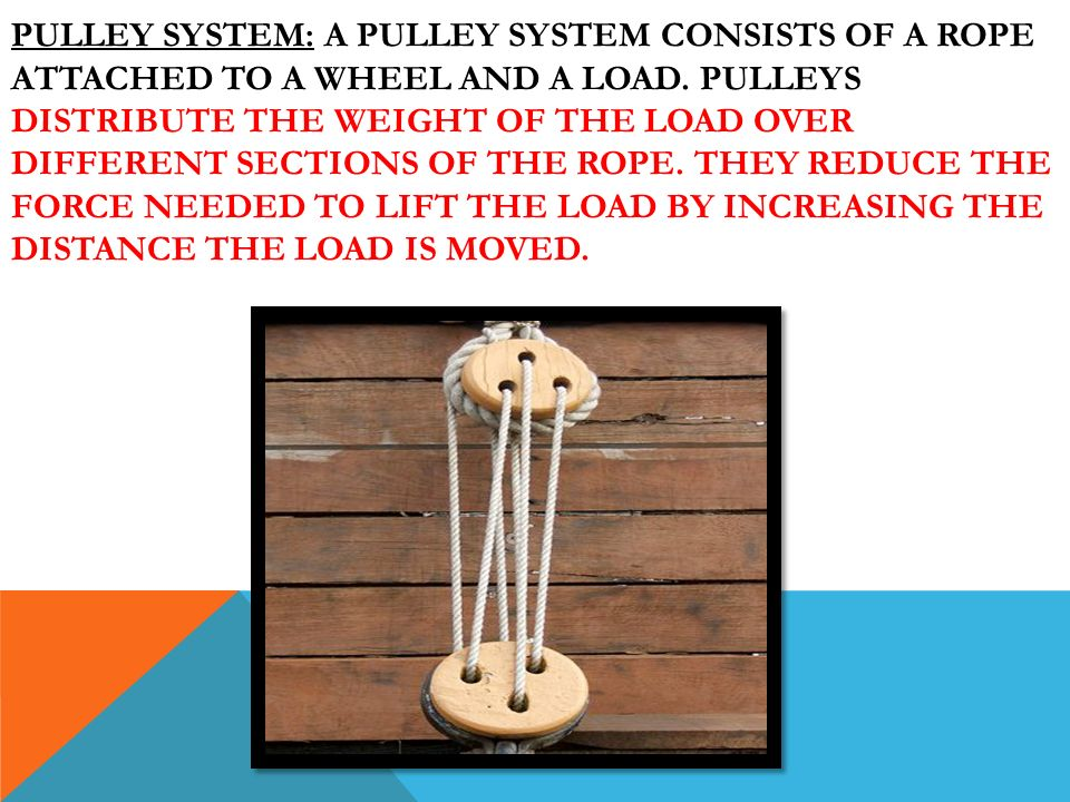 Simple Machines Inclined Planes Pulleys Ppt Video Online