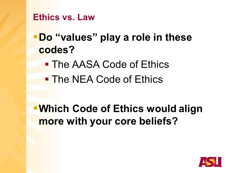 ISLLC Standard #5 Ethics & Integrity - ppt download