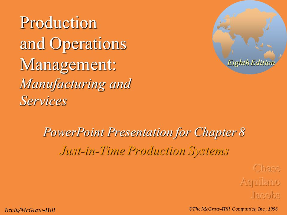 C. S ppt for production department.