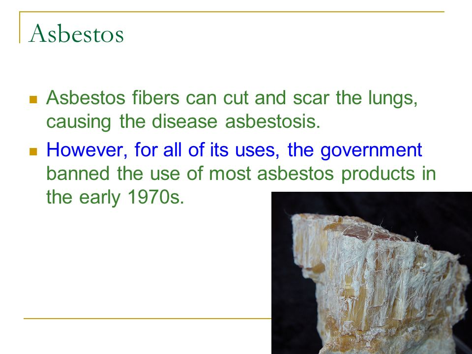 Asbestos Fibers In The Air : Air chapter ppt video online download