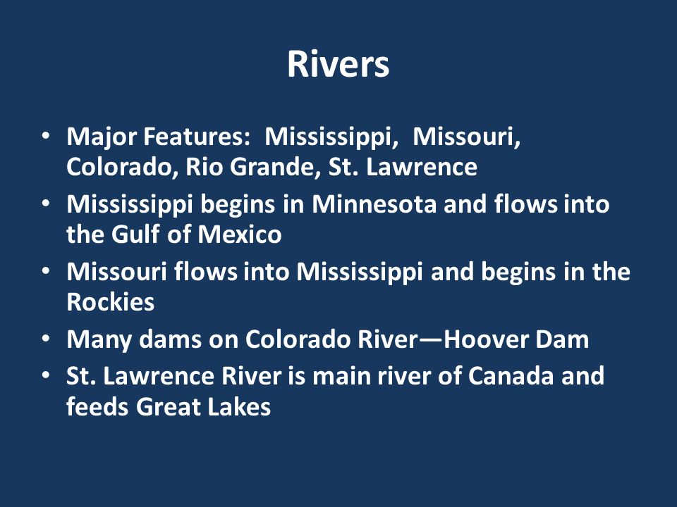 Physical Geo Of United States Canada Ppt Video Online Download - Major physical features of united states