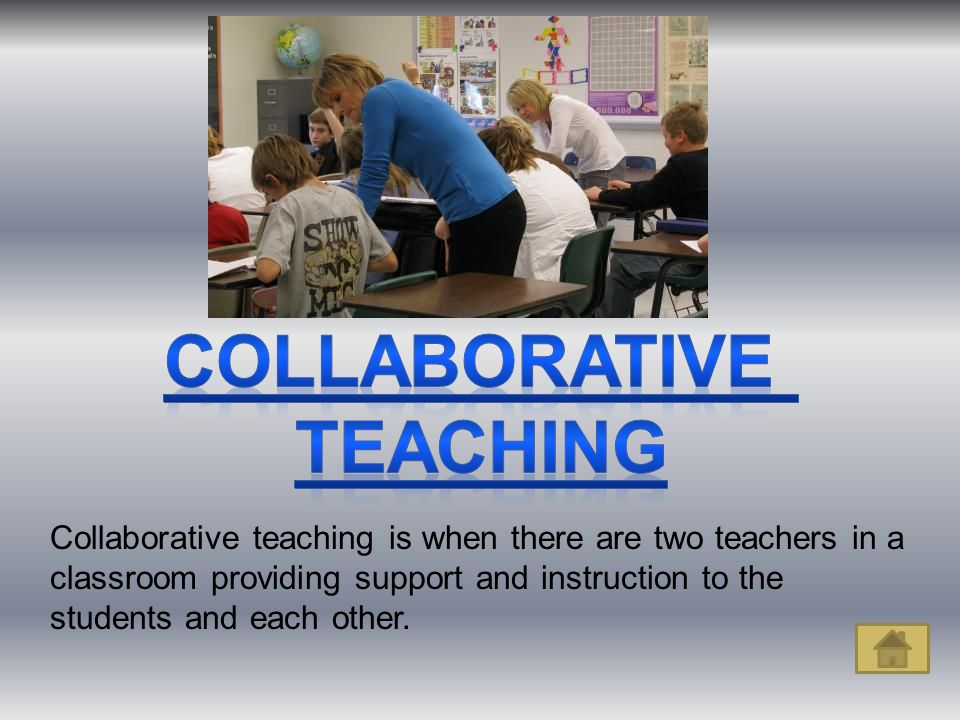 Collaborative Teaching With Students ~ School placements by somaya c haspil educ ppt video