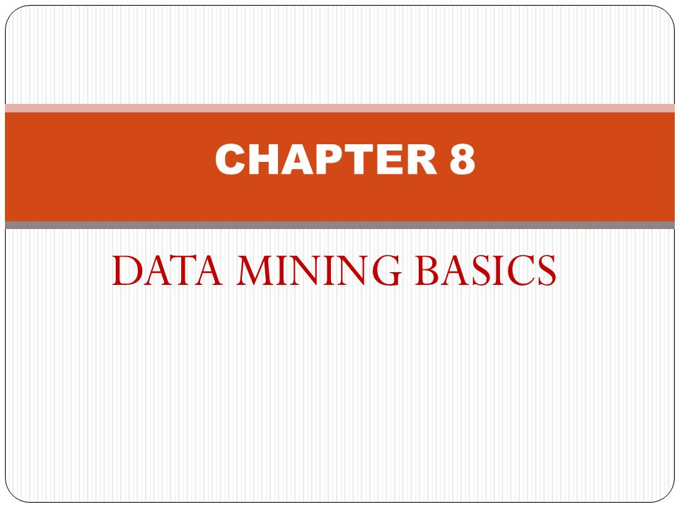 data mining fundamentals The theoretical basic principles of data mining form the focal point of this course building on this, the first practical steps are demonstrated and learned for.