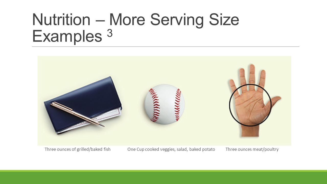 Nutrition strength and balance tips to become a for Serving size of fish
