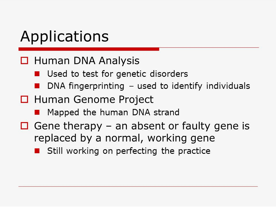 an analysis of the human genome project The human genome project is the scientific research effort to construct a complete map of all of develop tools for data analysis the human genome.
