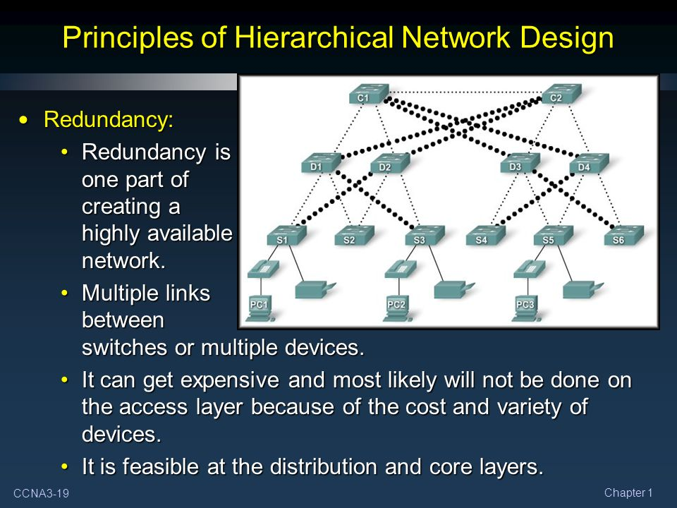 What Are the Benefits of Hierarchical Network Design?