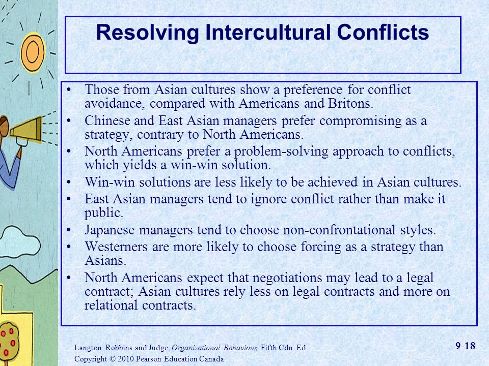 intercultural conflict and organizations Culture & conflict: intertwined with international business  mercilessly crumble an unprepared organization  in intercultural work because they guide beliefs on .