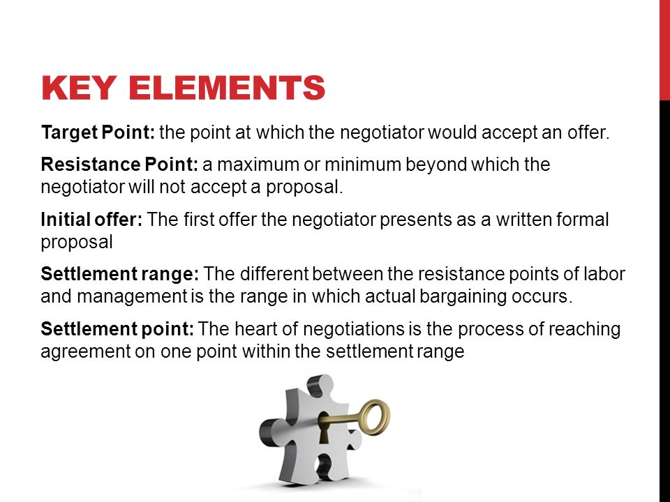 negotiation and resistance point Negotiators starting and resistance points are usually arranged in revers order from com 312 at asu.