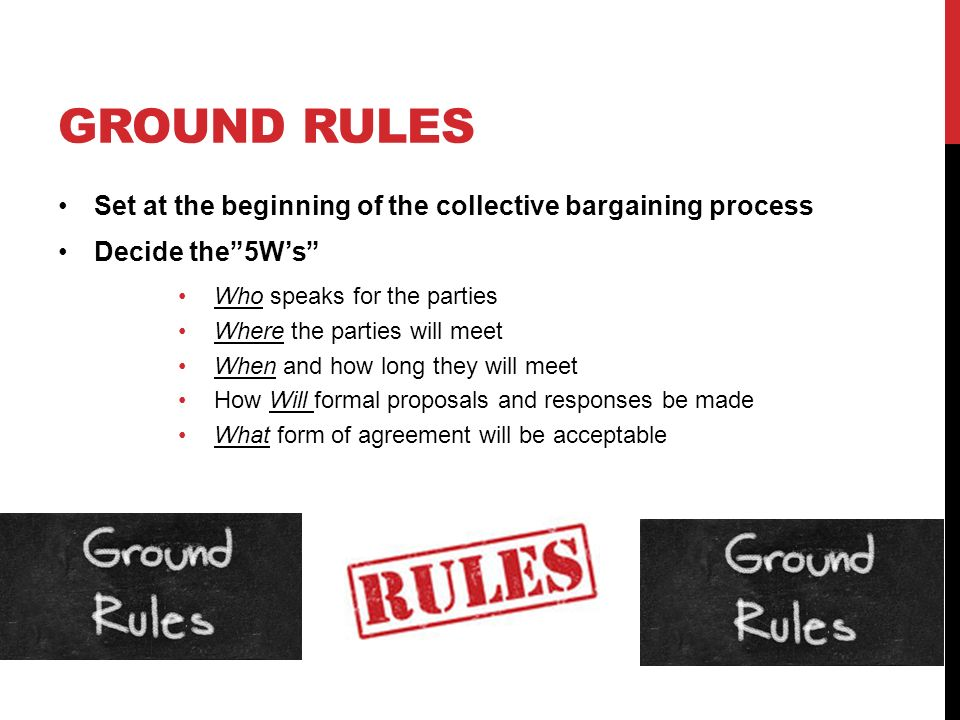 Key Elements Of The Collective Bargaining Agreement Coursework