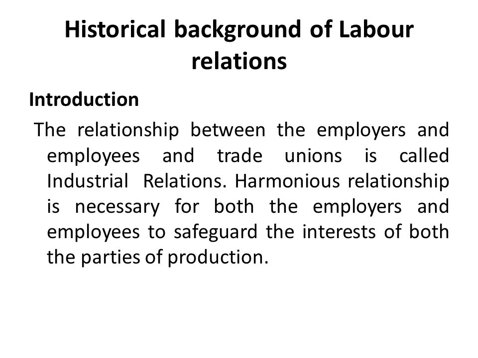 Concept of Industrial Relations: Industrial Relations Management