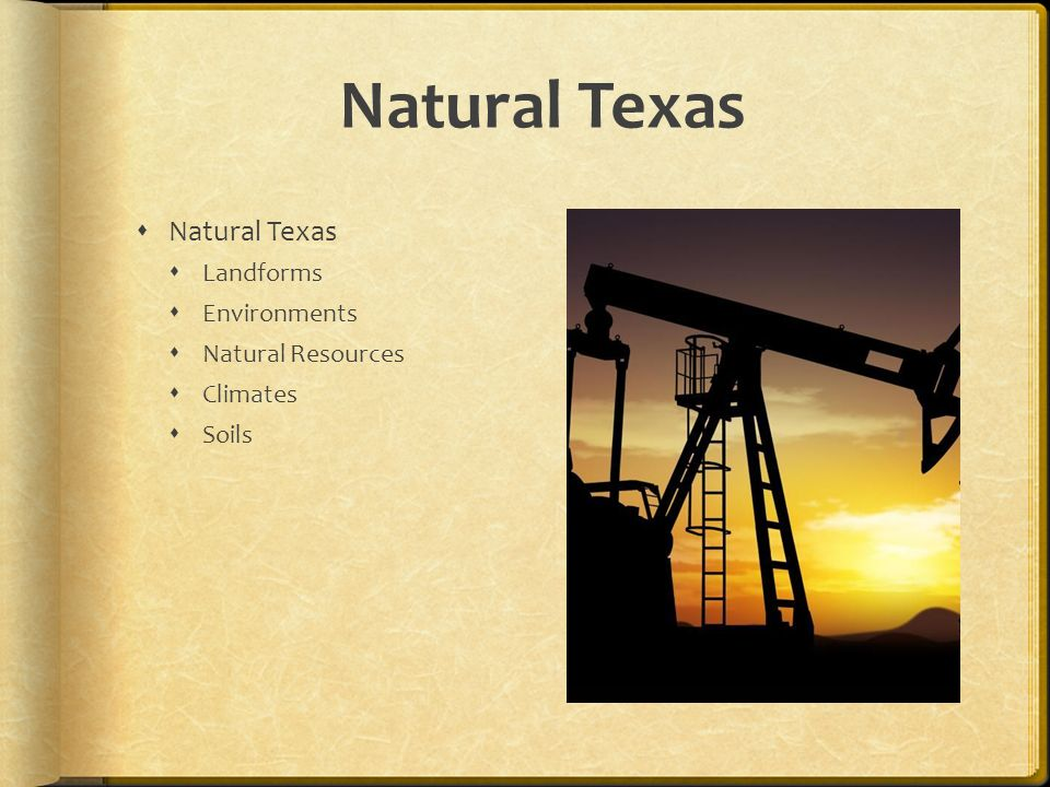 an analysis of the natural resources of texas Texas leads the united states in production of oil, cattle, sheep, hay, goats and cotton other agricultural products include poultry, eggs, milk, wheat, rice and peanuts in addition to oil, mining resources include sulfur, helium, salt, graphite, asphalt, bromine, natural gas and cement the .