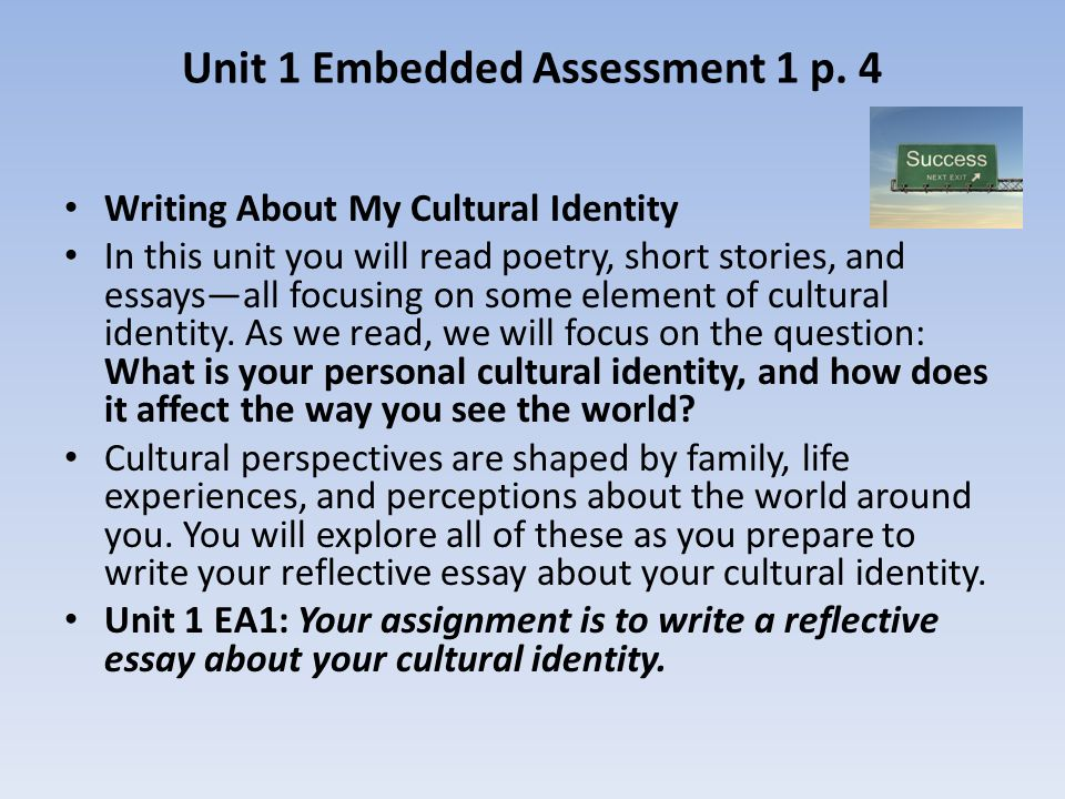 influence of cultural identity on learning english english language essay Identity, teaching, and learning  complex beliefs about ethnic identity, can influence the nature and depth of  a foundation in one's cultural identity.