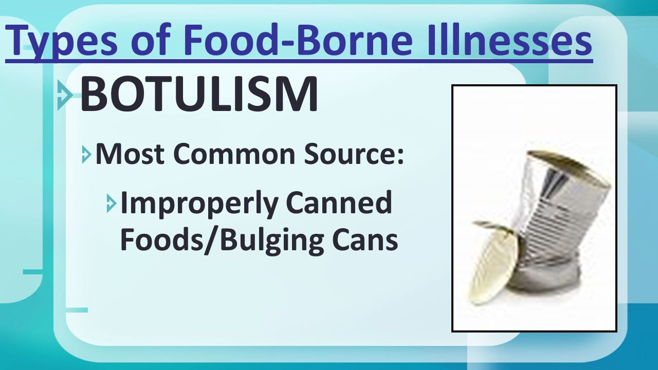 causes of food borne botulism What is foodborne botulism foodborne botulism is a food poisoning caused by a toxin produced by the bacterium, clostridium.