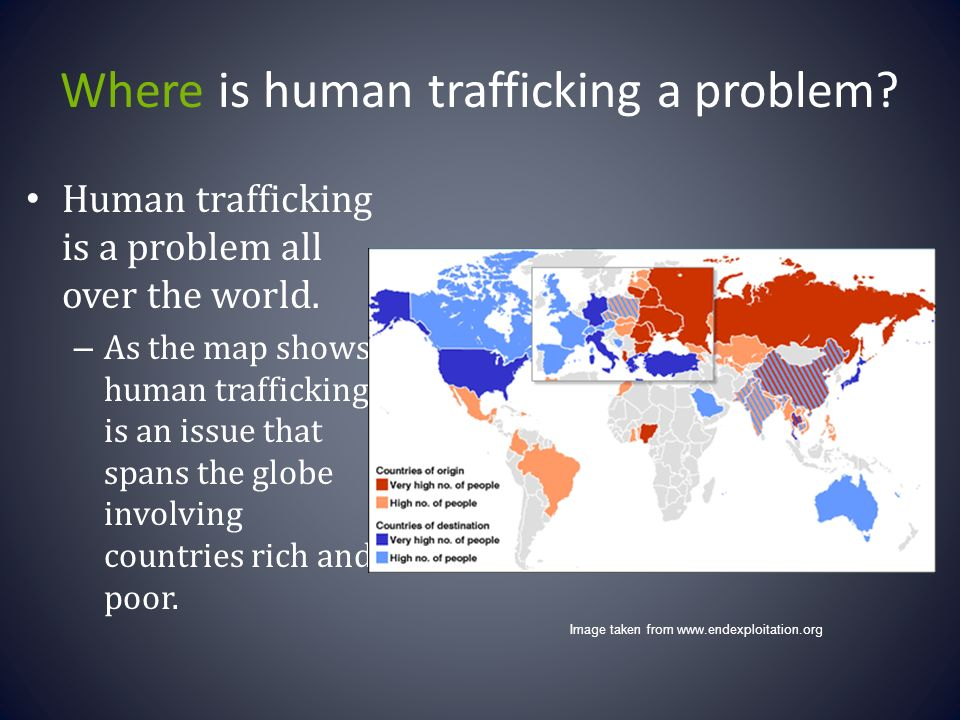 the rising issue of human trafficking all over the world More effective legislation: a rise in human trafficking convictions is a crucial first   escape is often enough to discourage victims from attempting to do so at all  to  its clandestine nature, human trafficking has proven to be a difficult issue on.