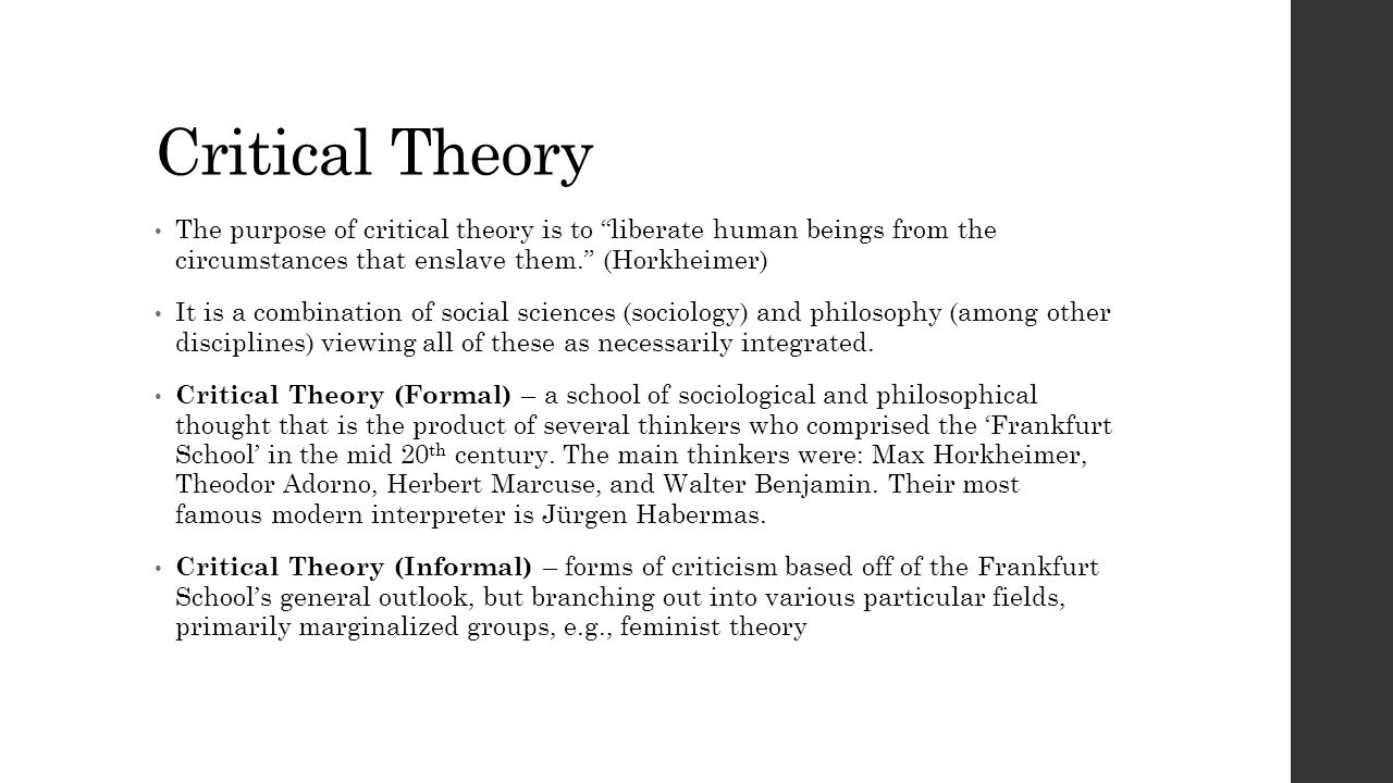 main theories in sociology Boundless sociology deviance, social control, and crime search for: theories of crime and deviance sociological theories of deviance sociological theories of deviance are those that use social context and social pressures to explain deviance  four main sociological theories of deviance exist the first is the social strain typology.