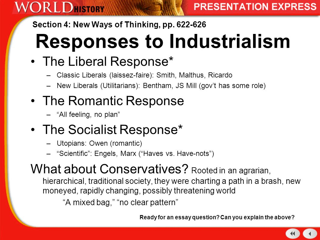 responses to modernism essay Essay on postmodernism and the matrix postmodernism in the matrix postmodern writing evolved around wwii in response to modernism that dominated the 19th c.