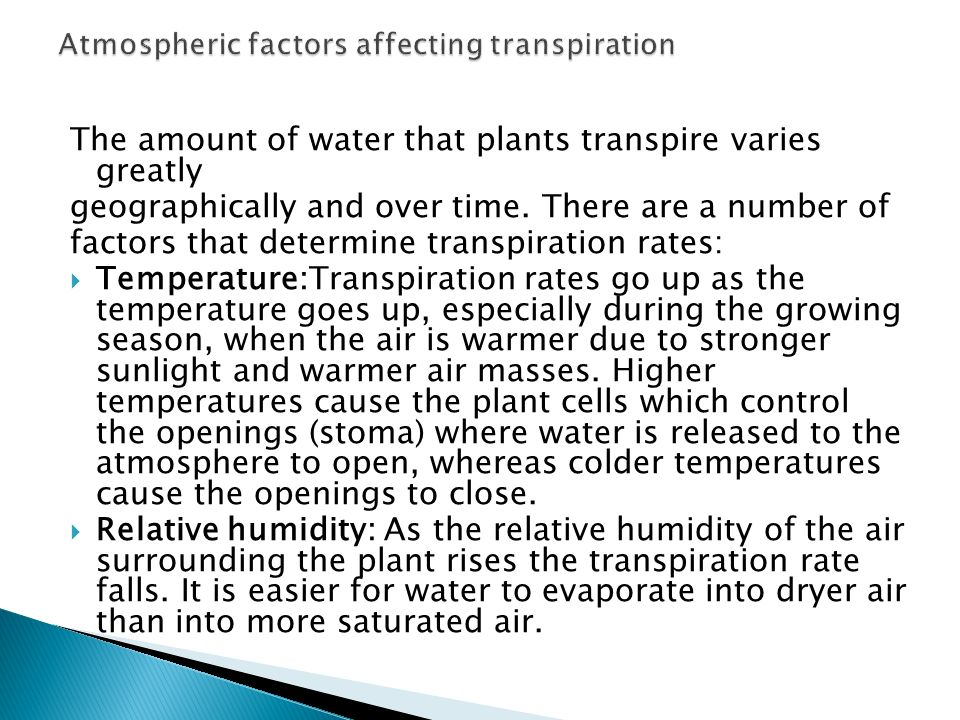 factors affecting the movement of water The movement of groundwater underneath us is influenced by several factors groundwater, which is water below earth's surface, doesn't flow in quite the same way as.