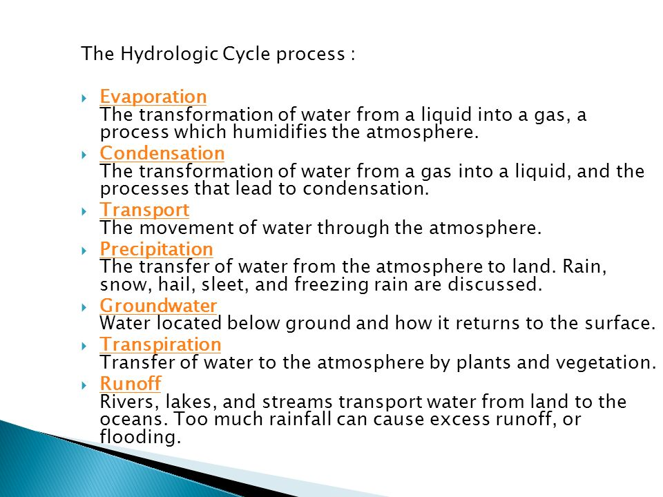 UNIT 1 HYDROLOGICAL CYCLE ppt download – Hydrologic Cycle Worksheet