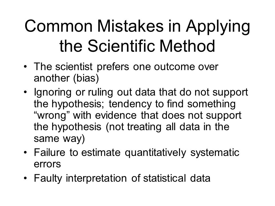 applying scientific method Understanding how to apply the scientific method to these seemingly non-scientific problems can be valuable in furthering one's career and in making health-related decisions this chapter captures the essence of this course .