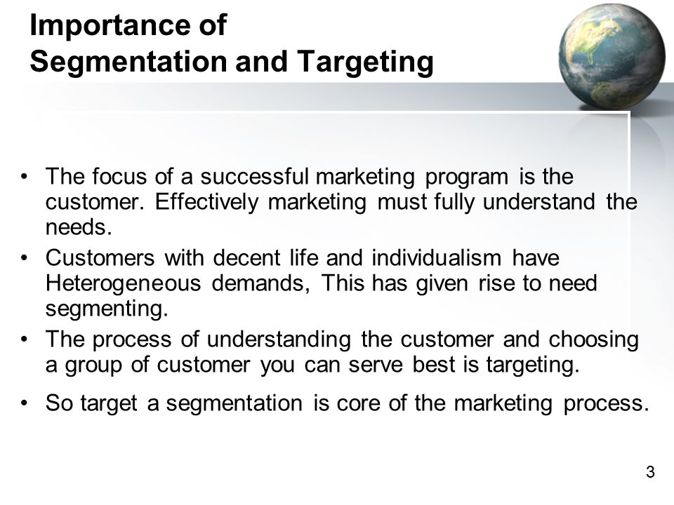 role of segmentation in business life Customer segmentation is one such strategy that can help a business  a brand  can demonstrate each individual customer's importance to the brand by   increased customer lifetime value, and word of mouth marketing.