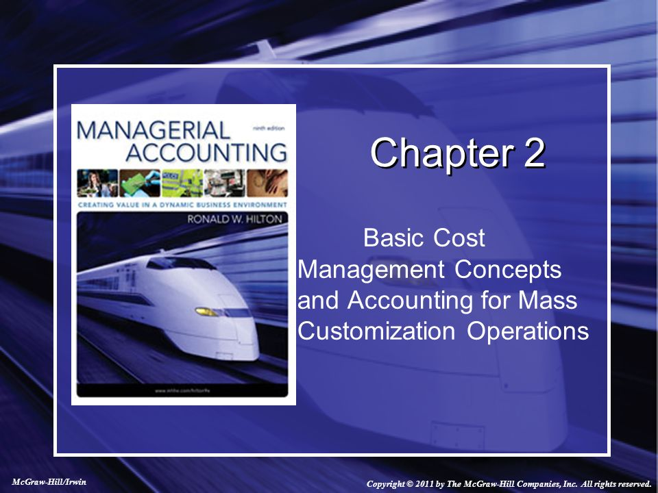 managerial accounting and cost concepts chapter Study managerial accounting discussion and chapter questions and managerial accounting and cost concepts cost-volume-profit analysis: a managerial.