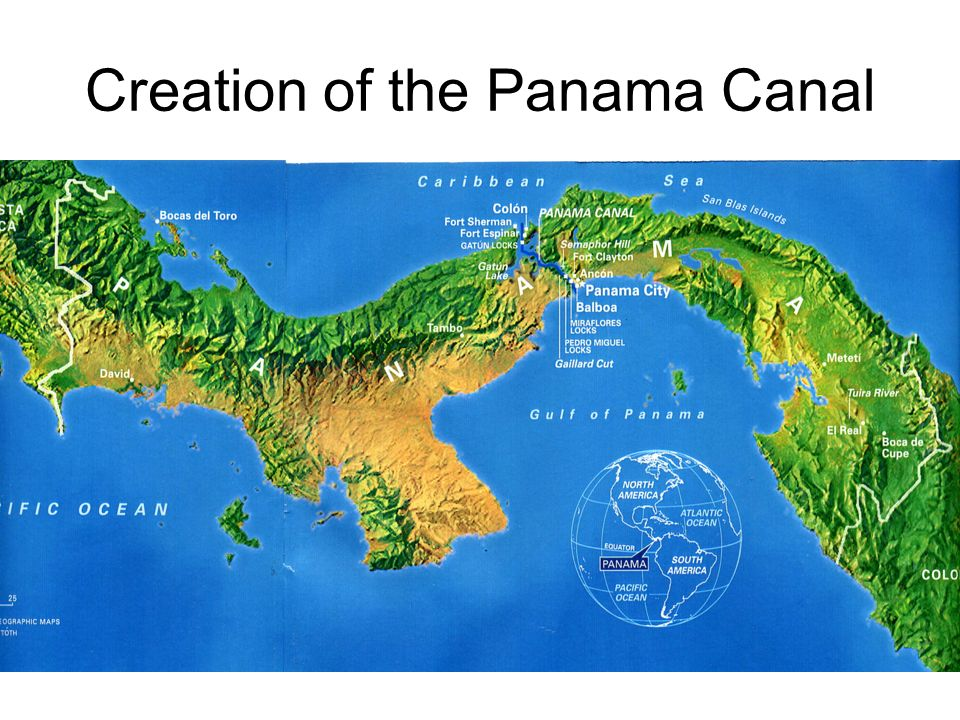 the creation of the panama canal Throughout the history of the panama canal, soft infrastructures such as forestry  techniques, land management regimes, and international treaties have been.
