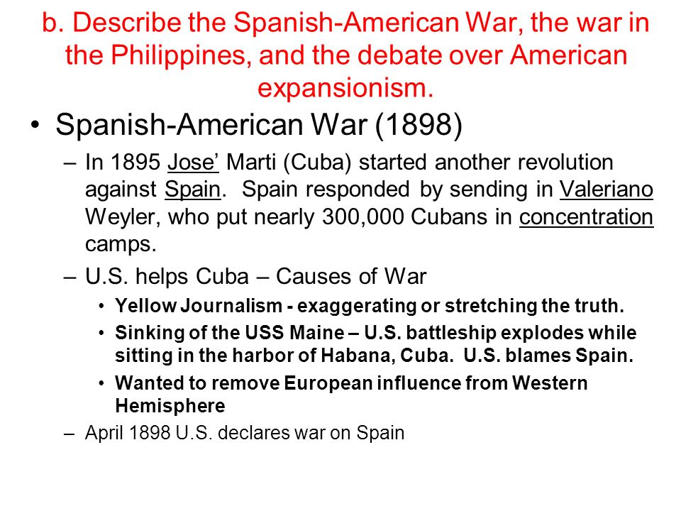 the truth about the spanish american war Although it gets short shrift in the history textbooks, in many ways the modern  american empire can find its origins in the spanish-american war.