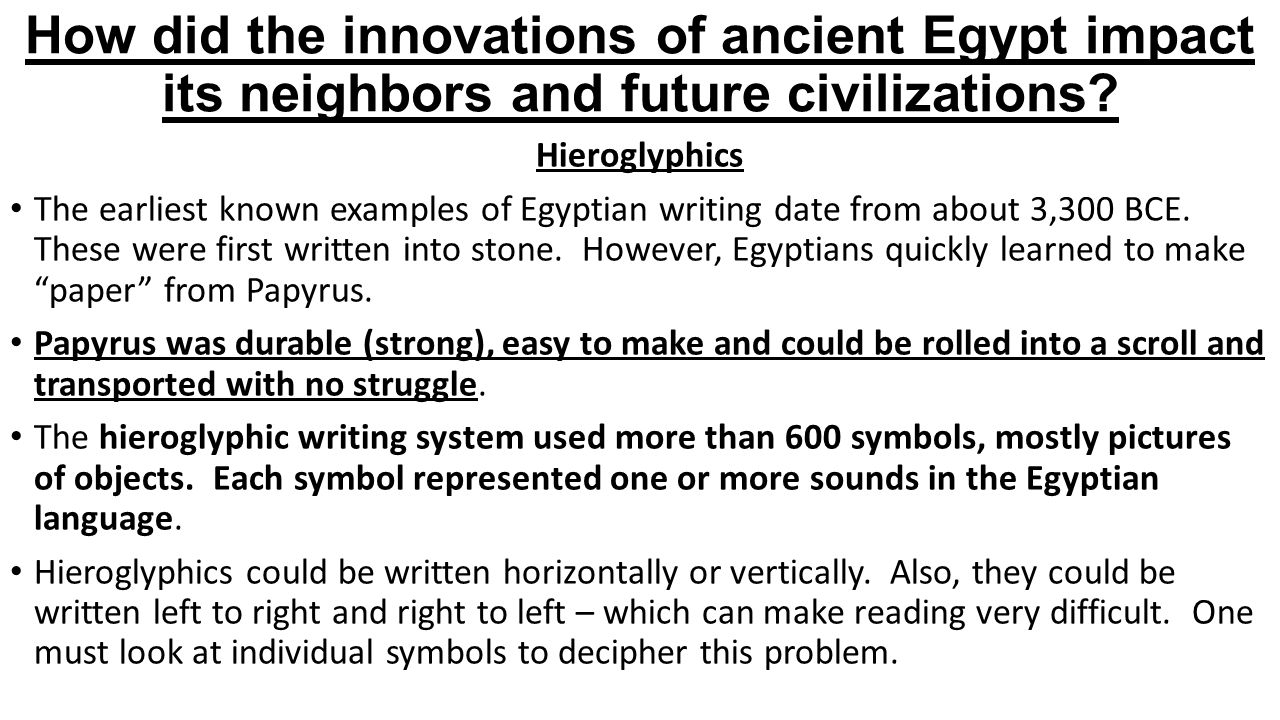 earliest known hieroglyphic writing activities