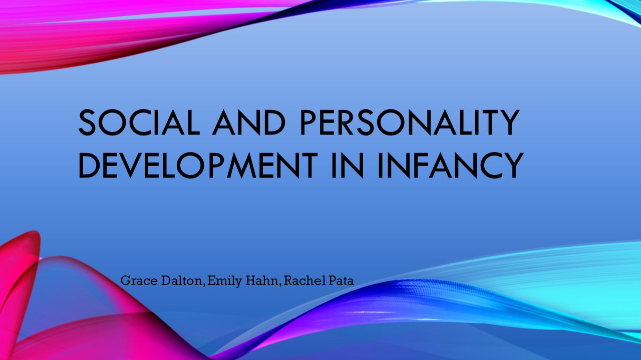 ch 6 socioemotional development in infancy Chapter 4 socioemotional development in infancy emotional development emotion: feeling, or affect, that occurs when a person is in a state or interaction that is important to him or her.