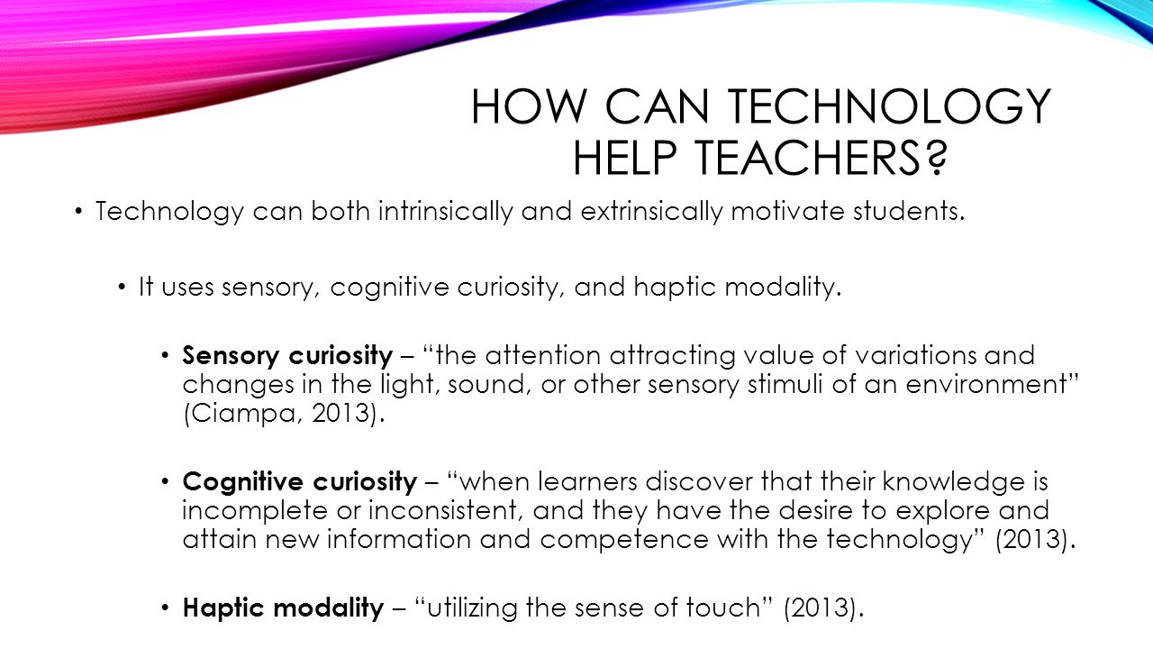using technology to motivate students to Here are 10 tips to help you learn how to motivate students to love reading k-12 news, lessons & shared resources make sure you have an abundance of different genres and themes in your classroom library from which students may choose 7 use technology to create an e-book children love technology, and there is nothing is better than using these tools to get students.